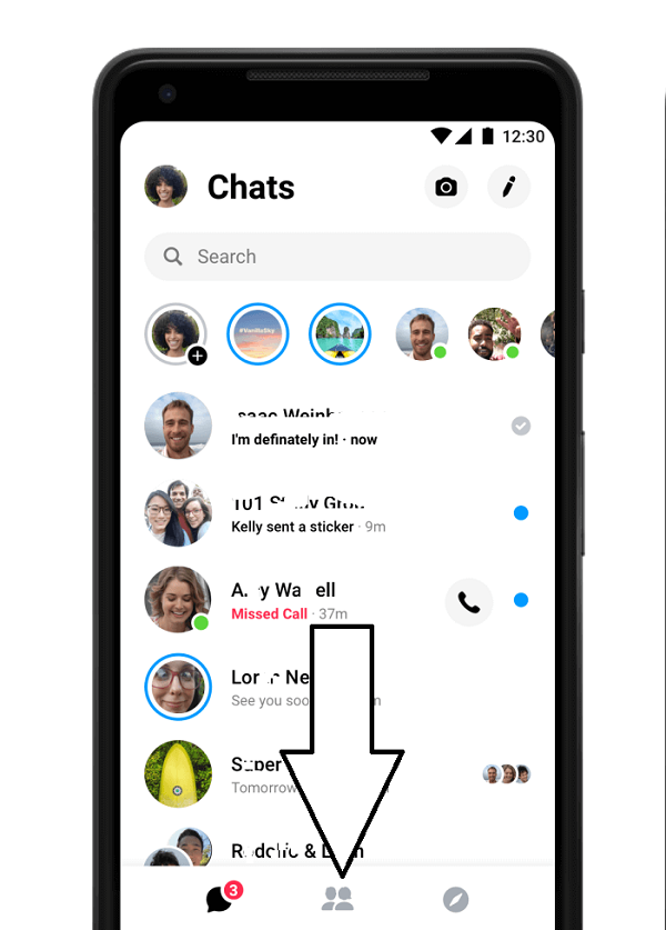 How to Respond to a Wave on Messenger