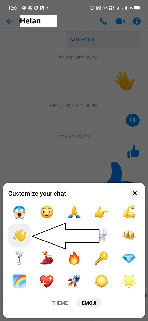 how to receive wave on messenger