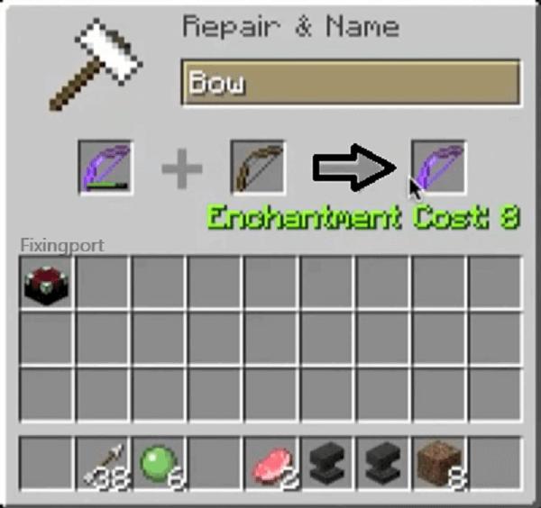 minecraft anvil