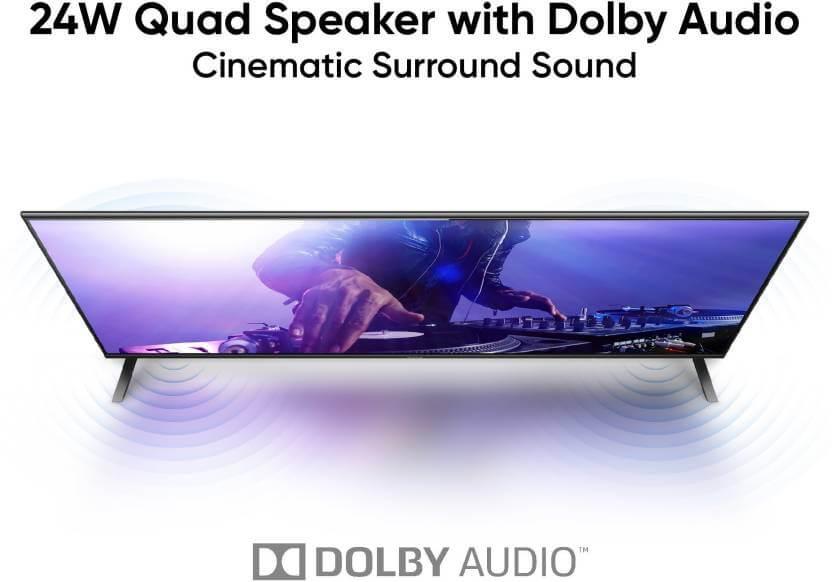 realme tv sound