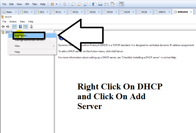 how to use dhcp server for windows 10